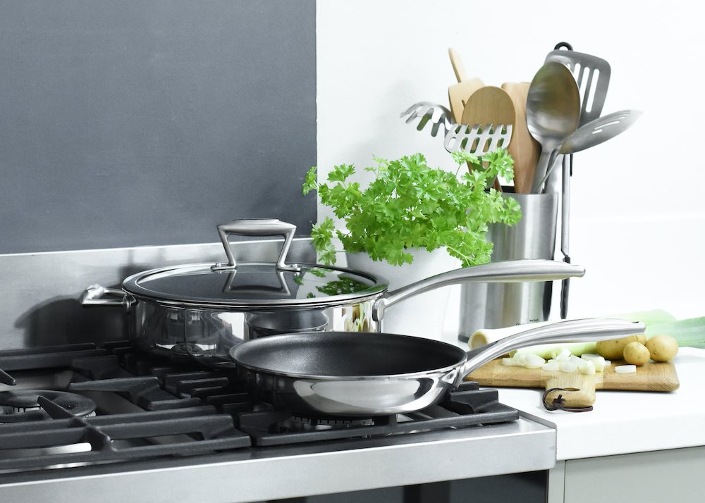 ProCook Elite TriPly Stainless steel saut and frying pan set