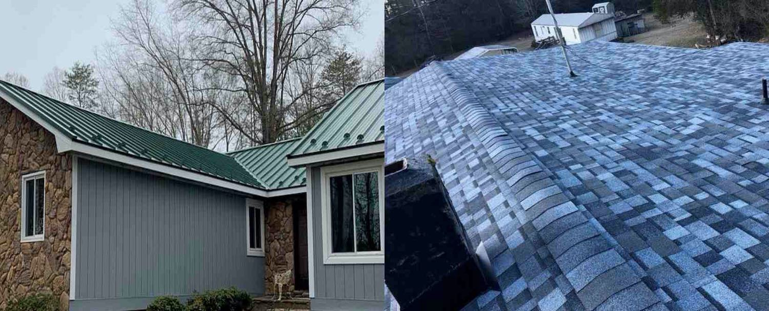 Asphalt Shingles or Metal Roofing - What's Your Choice