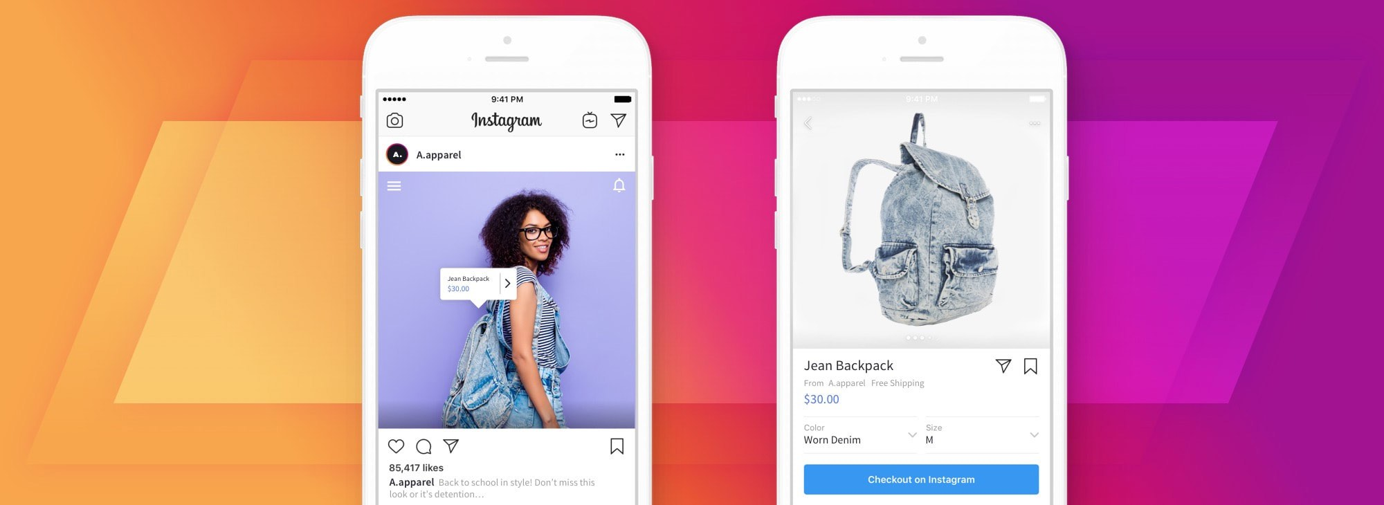 BigCommerce Big News: Checkout on Instagram