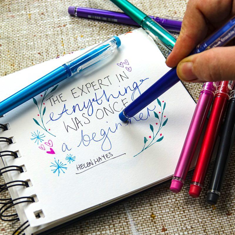 Mitsubishi Pencil Company Ltd New Erasable Gel retractable pens