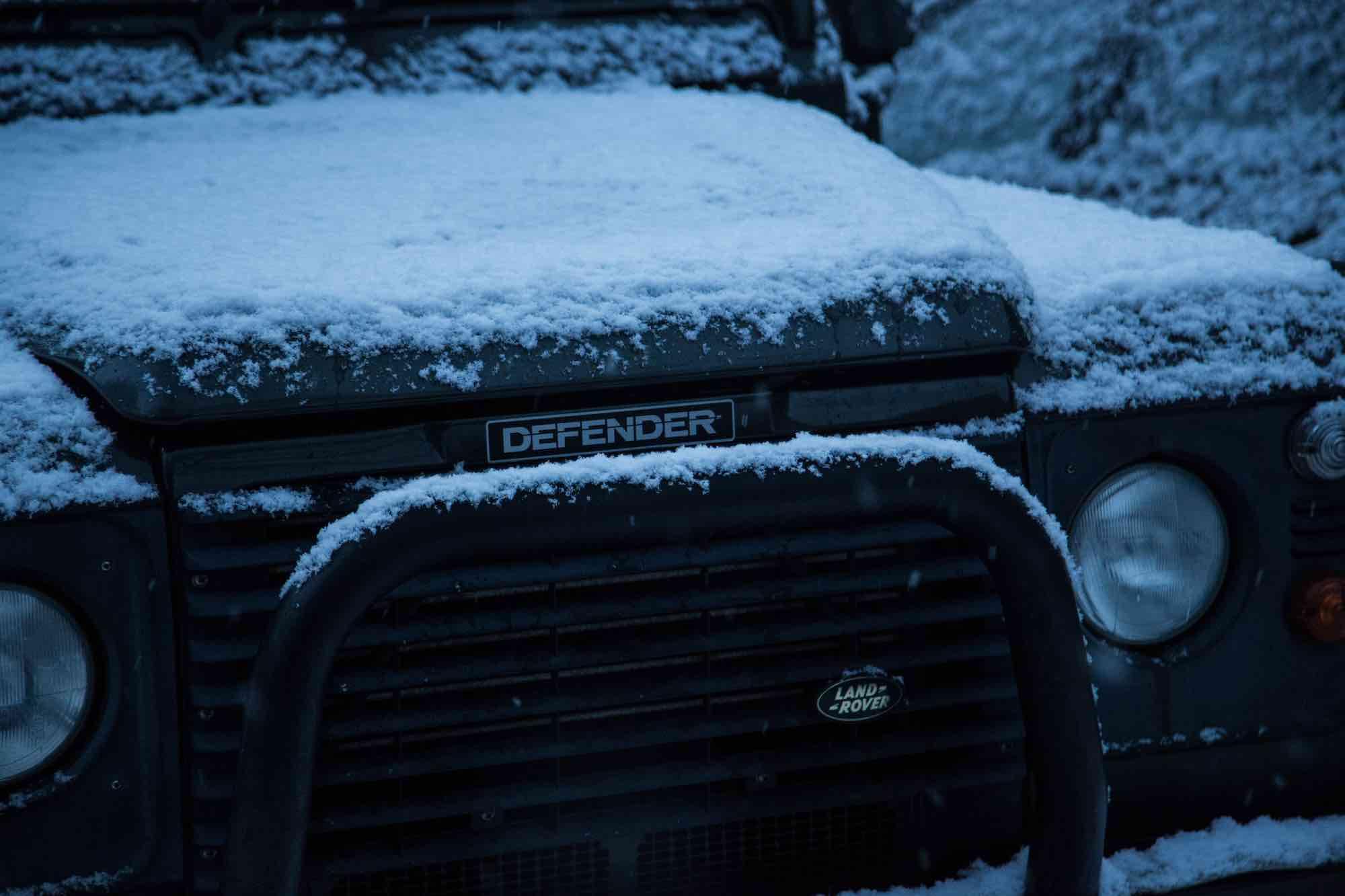 SUV bull bar Land Rover Ice